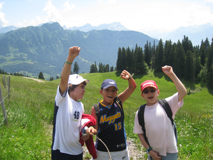 Junior Adventure Summer Camp | Switzerland | Leysin